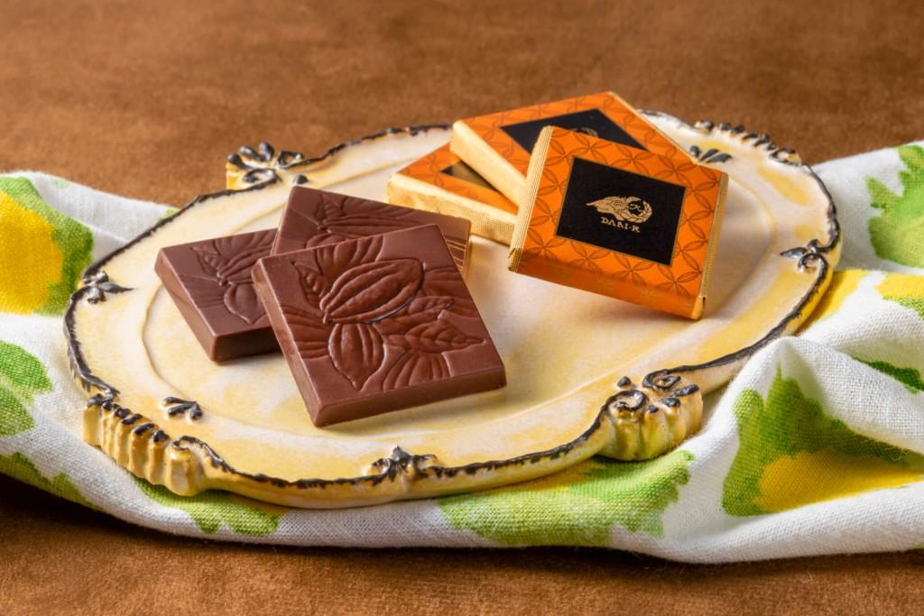 セブンイレブン-Dari K『シトラスカカオチョコレート』