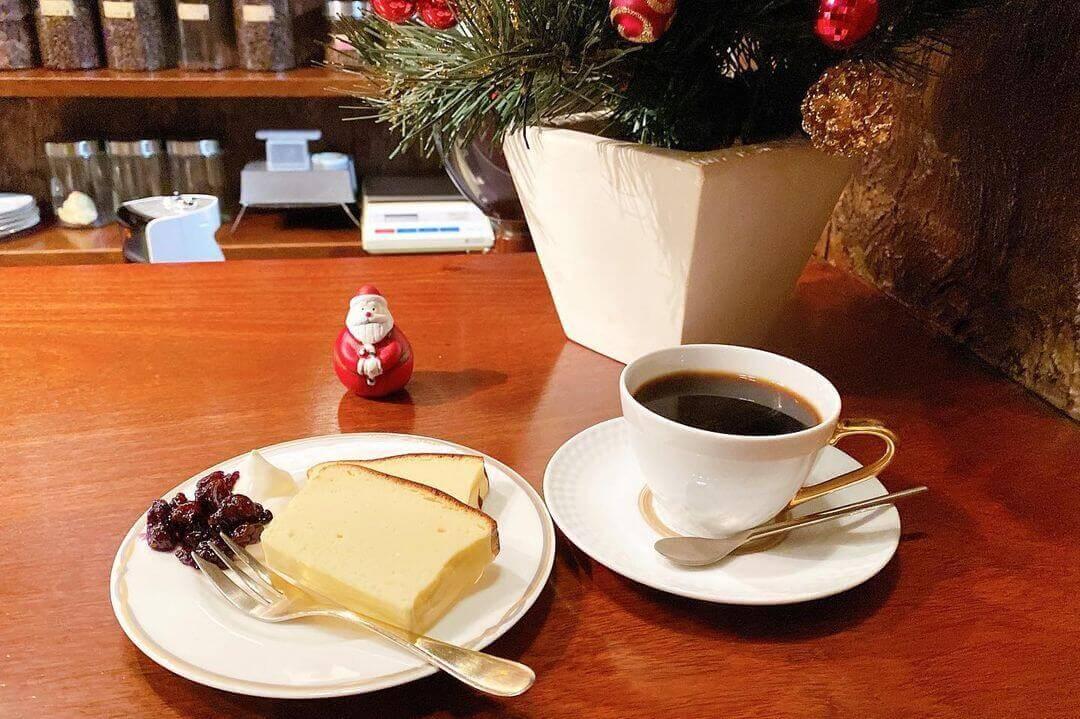 トムズカフェの『チーズケーキ』