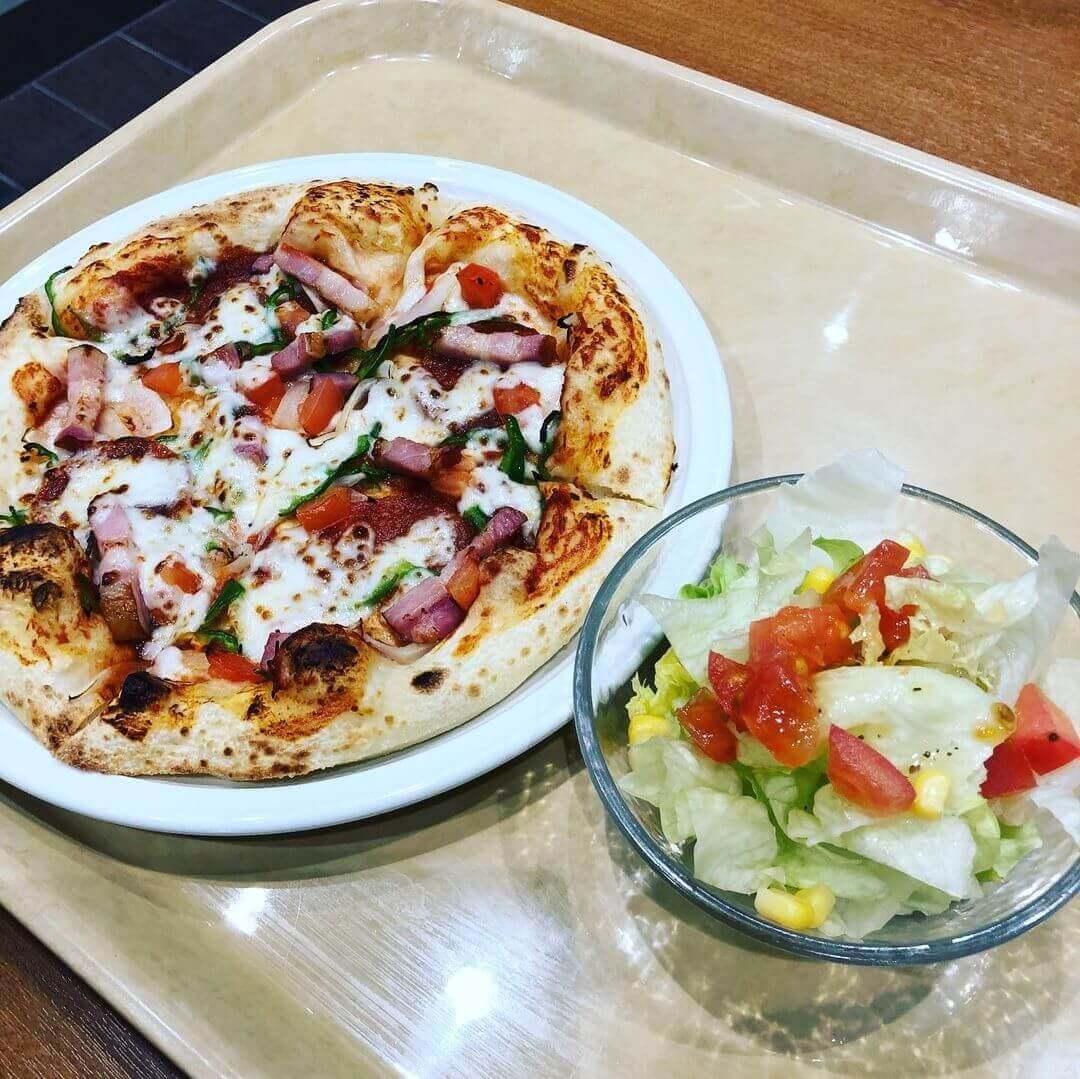 ピザハットExpress(エクスプレス) イオン札幌元町店の『ピザハットクラシック サラダセット』