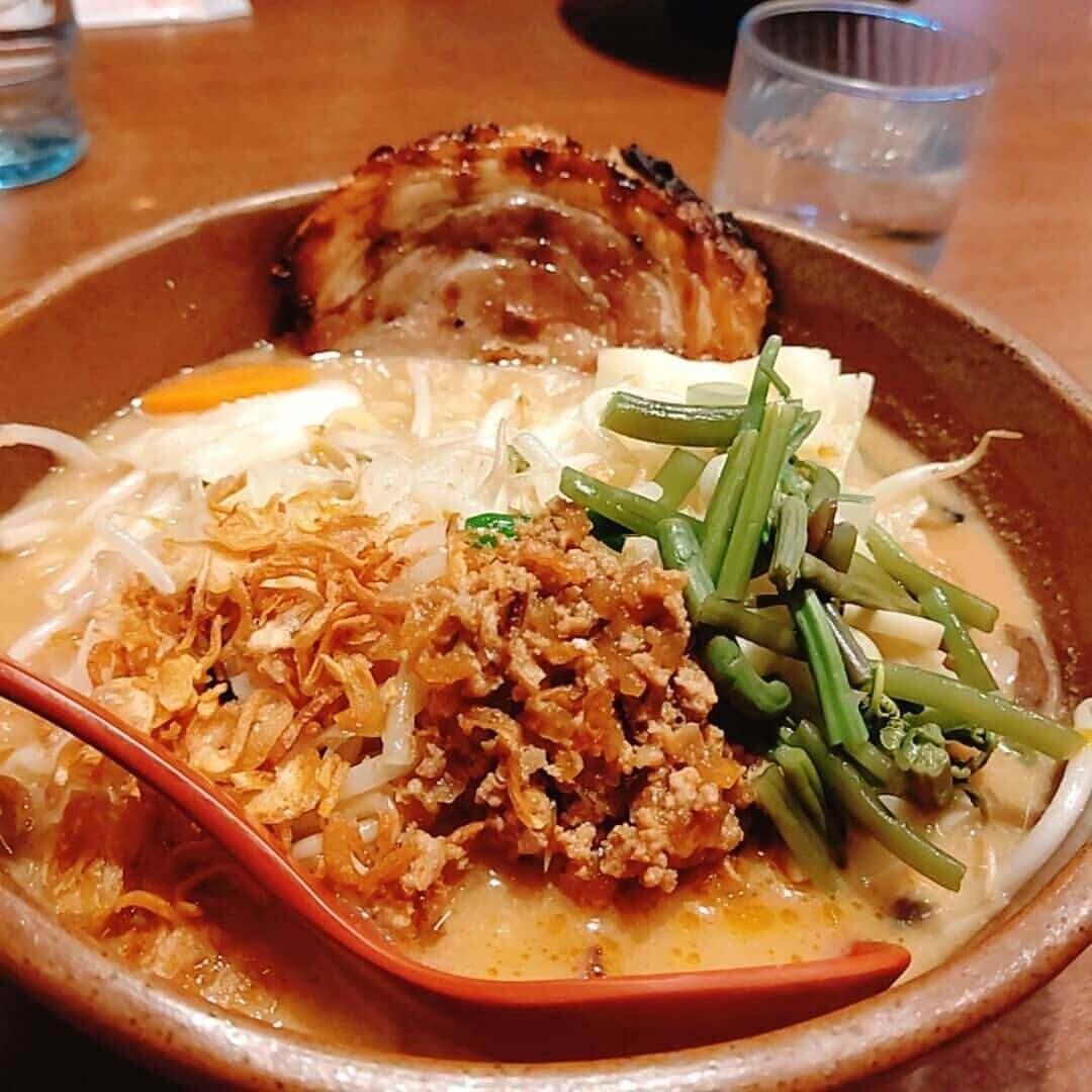 麺場 田所商店 札幌平岸店の『信州味噌の野菜ら~めん』
