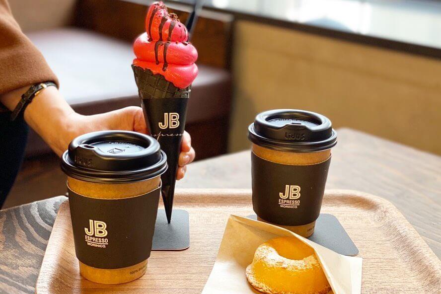 JB ESPRESSO MORIHICO.『JBソフトクリーム バレンタインチェリー/ミックス』