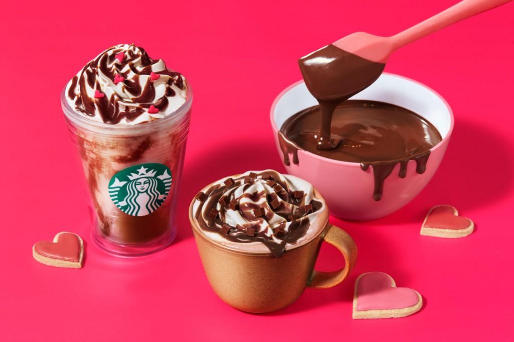 スターバックス コーヒー『メルティ 生チョコレート フラペチーノ(R)』、『メルティ 生チョコレート モカ』