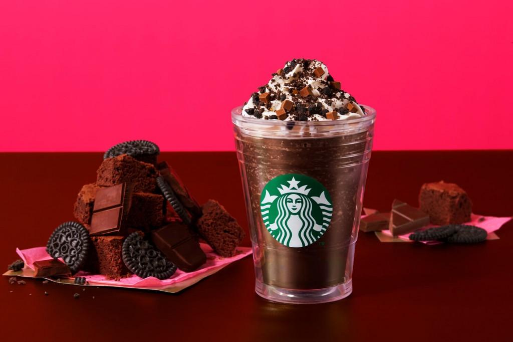スターバックス コーヒー『チョコレート オン ザ チョコレート フラペチーノ(R)』