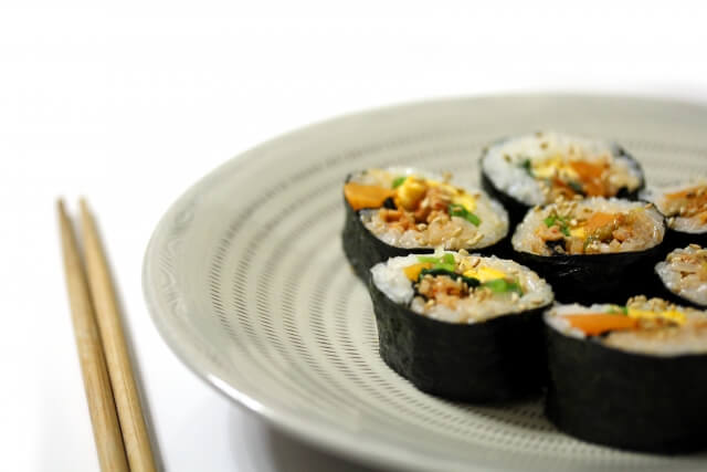 キンパ・韓国料理