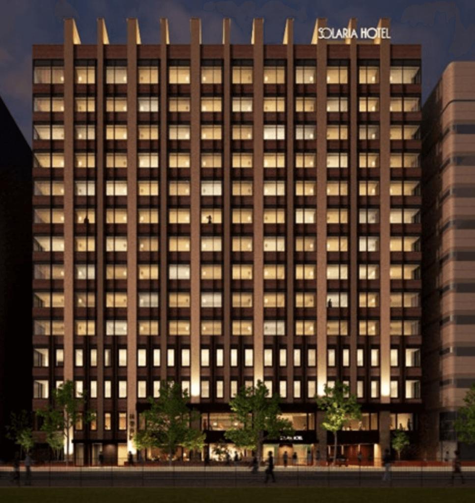 ソラリア西鉄ホテル札幌の外観