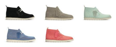 クラークスの靴