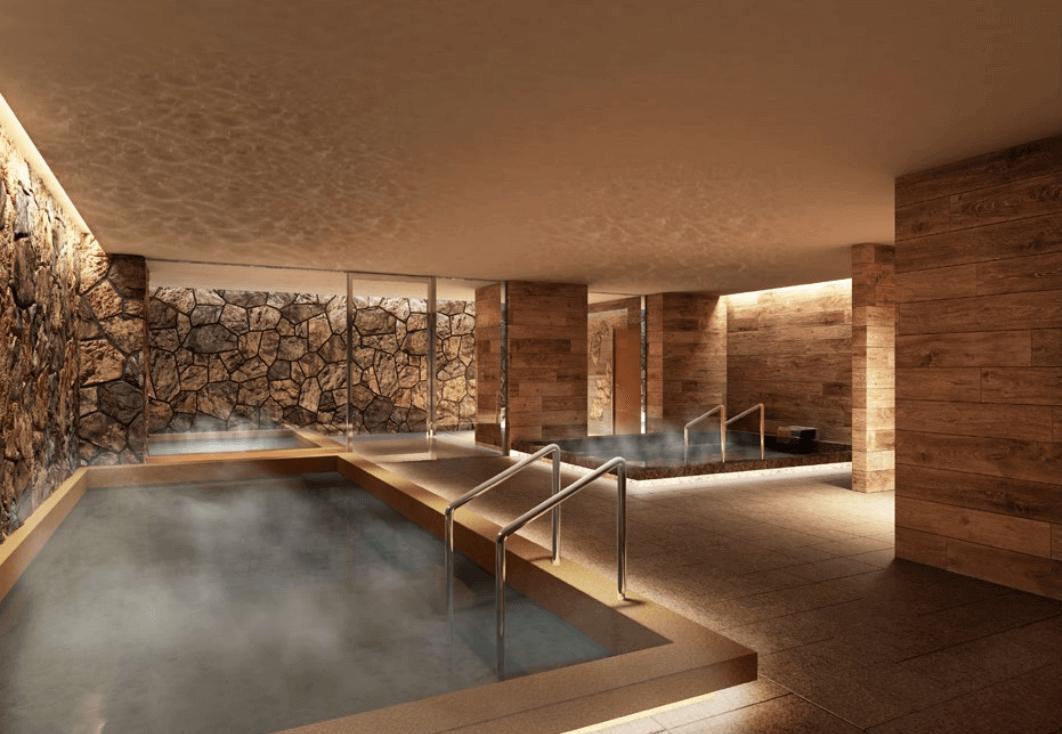 ソラリア西鉄ホテル札幌の大浴場
