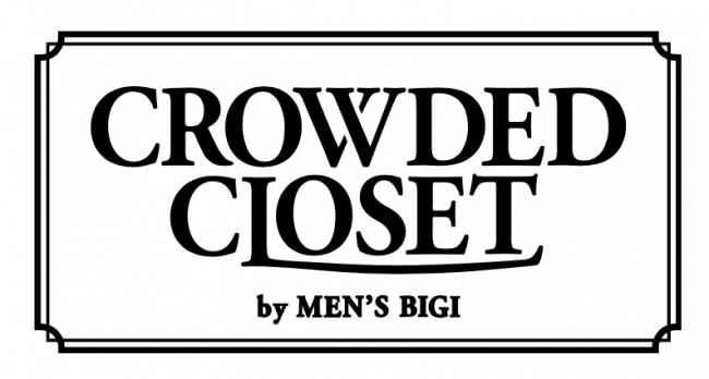 クラウデッドクローゼット バイ メンズビギのロゴ