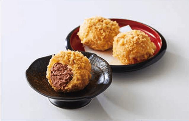 銀座ハゲ天『チョコレートアイスの天ぷら』
