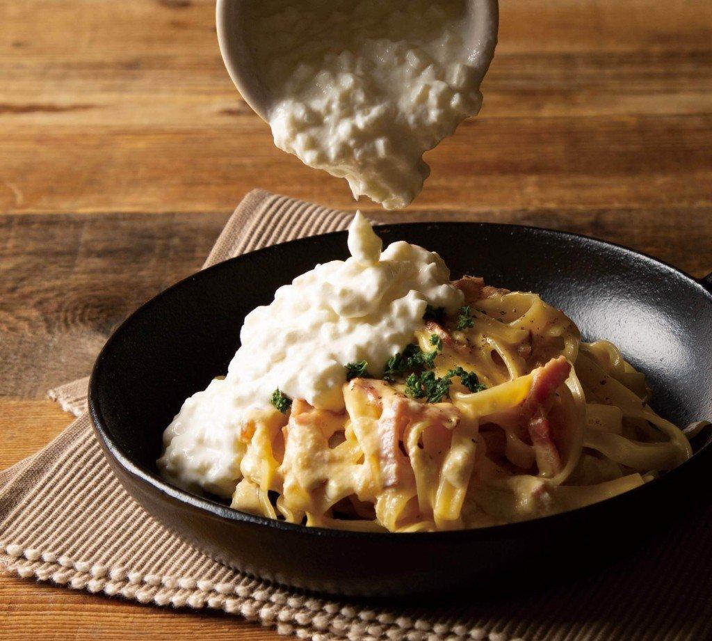 CHEESE RESTAURANT RICOTTA(チーズレストラン リコッタ)の『ベーコンのカルボナーラ』