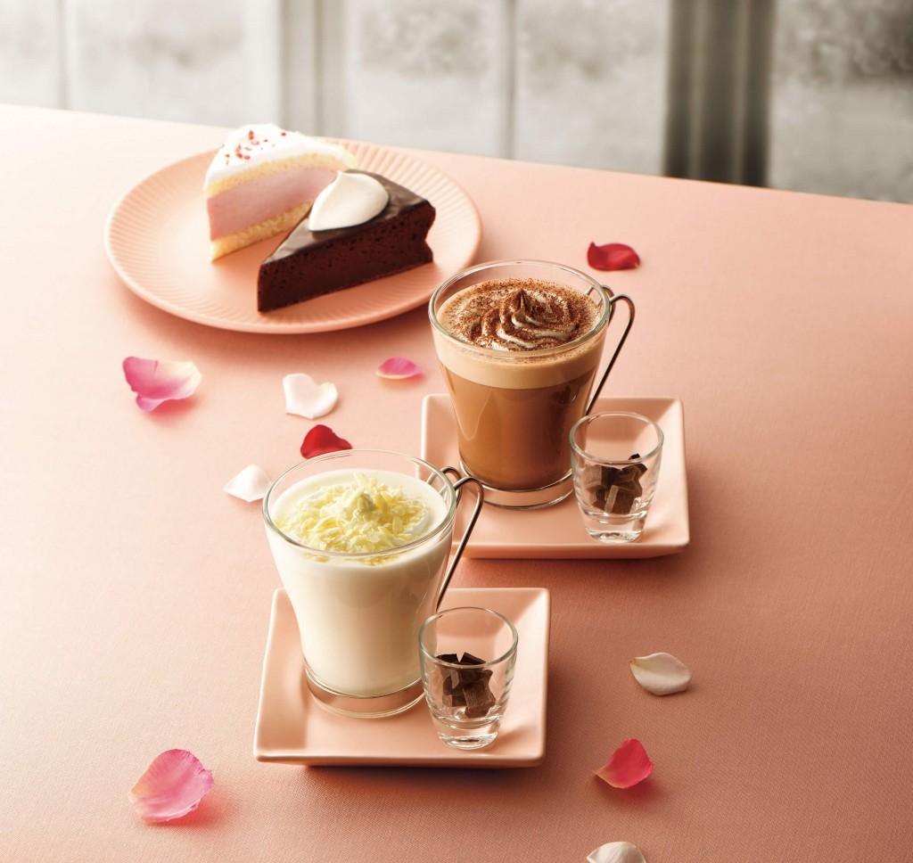 カフェ・ド・クリエ『ホットチョコレート~ダーク~』・『ホワイトショコラ~スイート~』