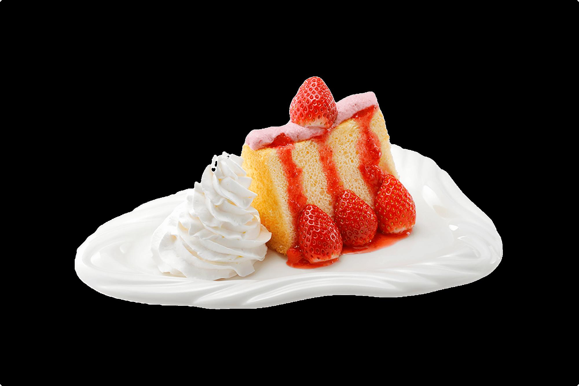 びっくりドンキーの『シルキーソフトケーキ 〜完熟いちご&マスカルポーネ苺クリーム~』