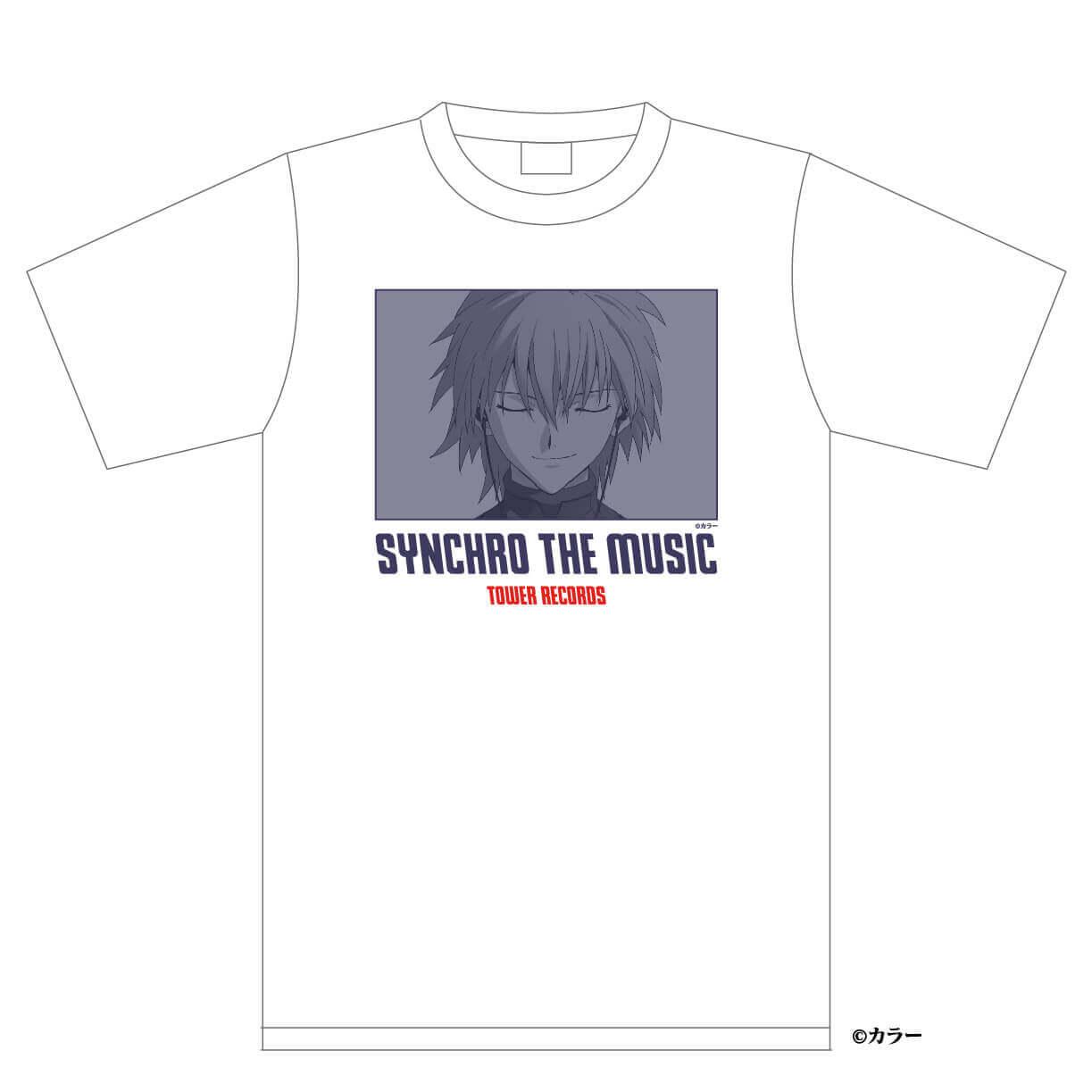 シン・エヴァンゲリオン劇場版 × TOWER RECORDS『Tシャツ カヲル』