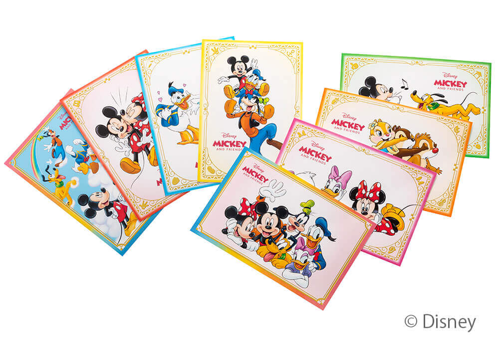 Disney SWEETS COLLECTION by 東京ばな奈-ミッキー&フレンズのポストカード
