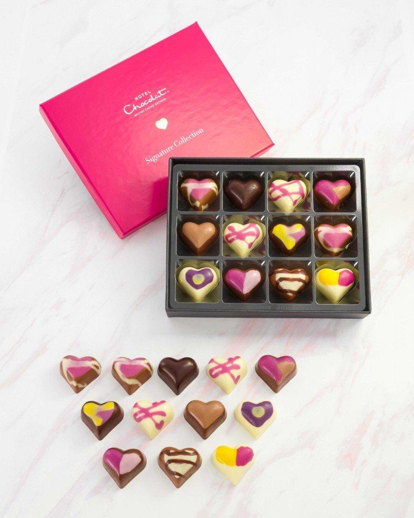 ホテルショコラ『2021年バレンタインコレクション』-シグネチャー コレクション ハート