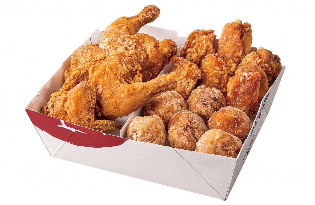 からあげ専門店 からやま『丸鶏入りからあげBOX』