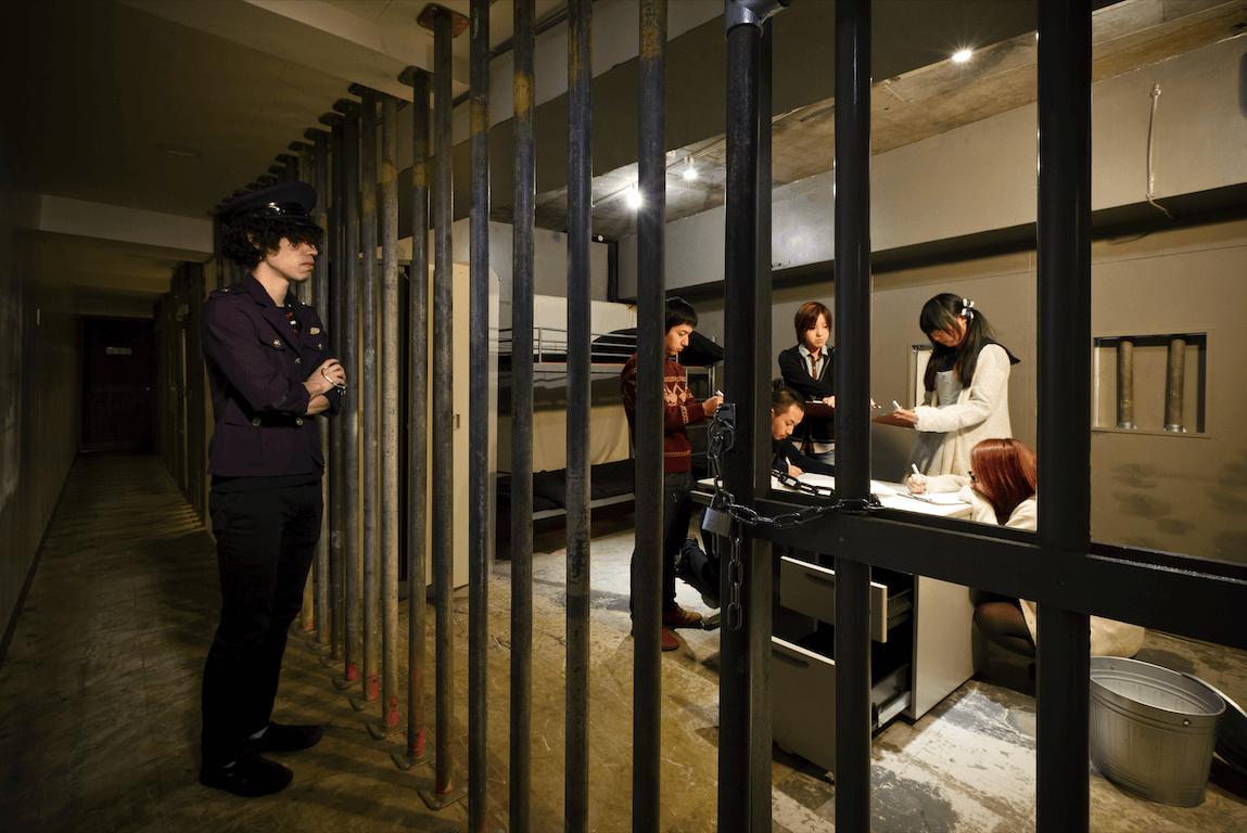 『誘拐された部屋からの脱出』の様子