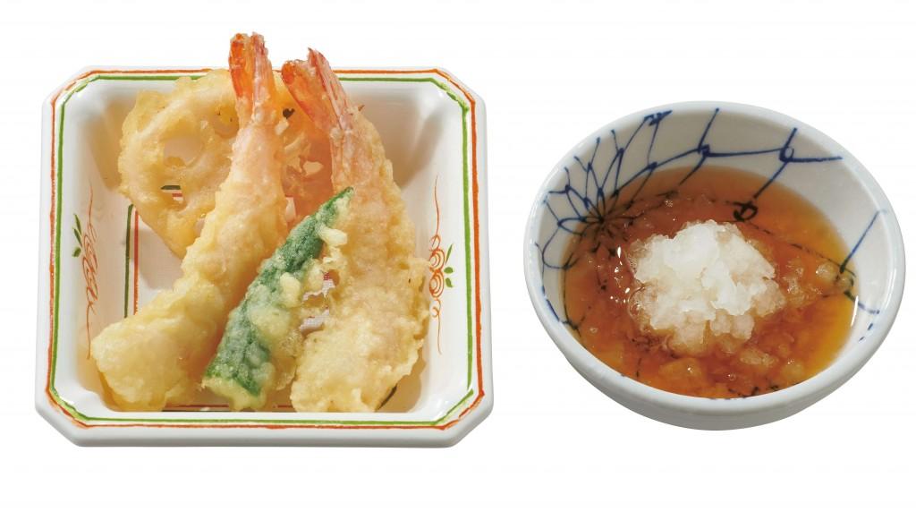 やよい軒の『やよい御膳』-天ぷら小鉢