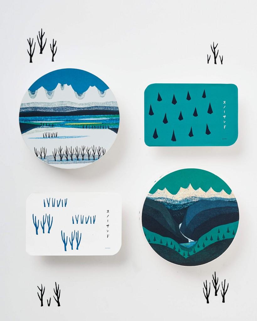 SNOW SAND(スノーサンド)-冬の季節に大切な人へ贈りたくなるような温もりのあるパッケージ