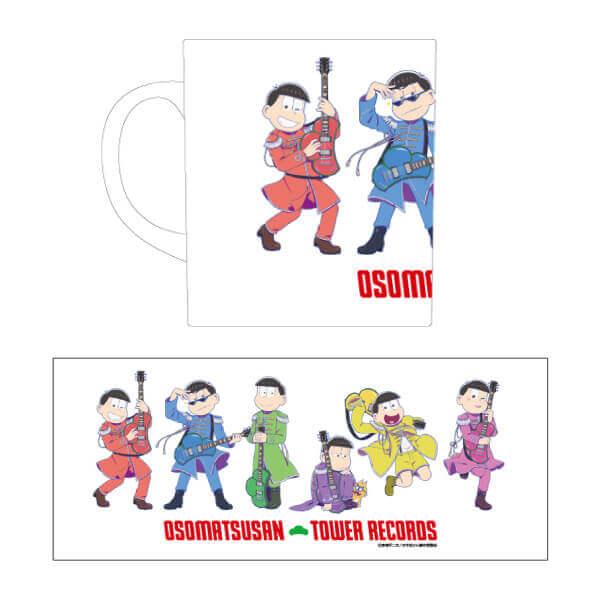 『おそ松さん × TOWER RECORDS』コラボグッズ-マグカップ