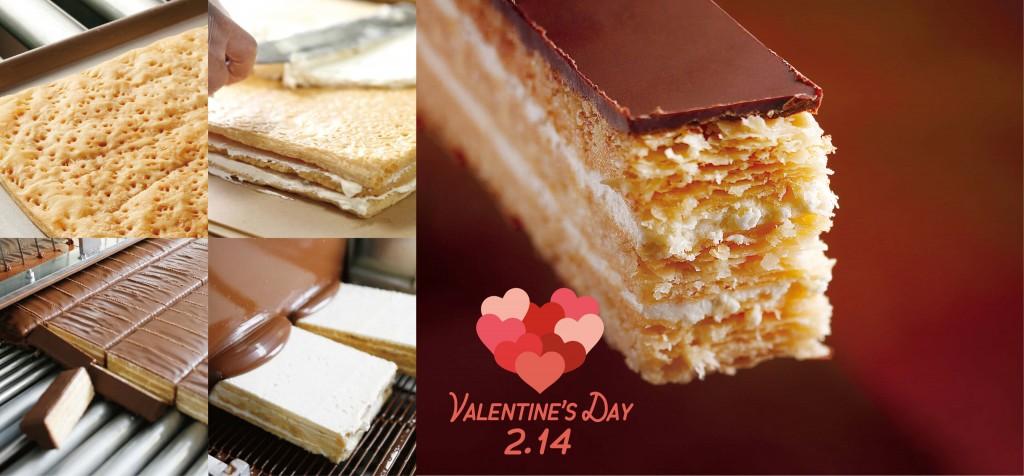 もりもとのバレンタイン2021『ミルフェ《スイートチョコレート》』