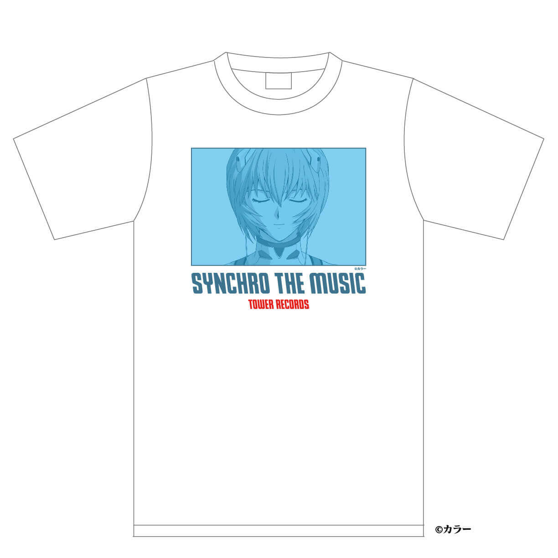 シン・エヴァンゲリオン劇場版 × TOWER RECORDS『Tシャツ レイ』