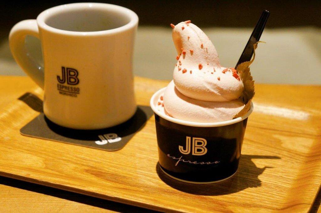 JB ESPRESSO MORIHICO.『JBソフトクリーム 桜餅/ミックス』