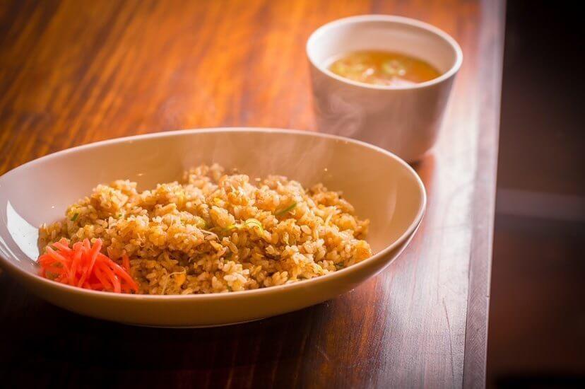 知床鶏麺chicken crest(チキンクレスト)の『チャーハン』