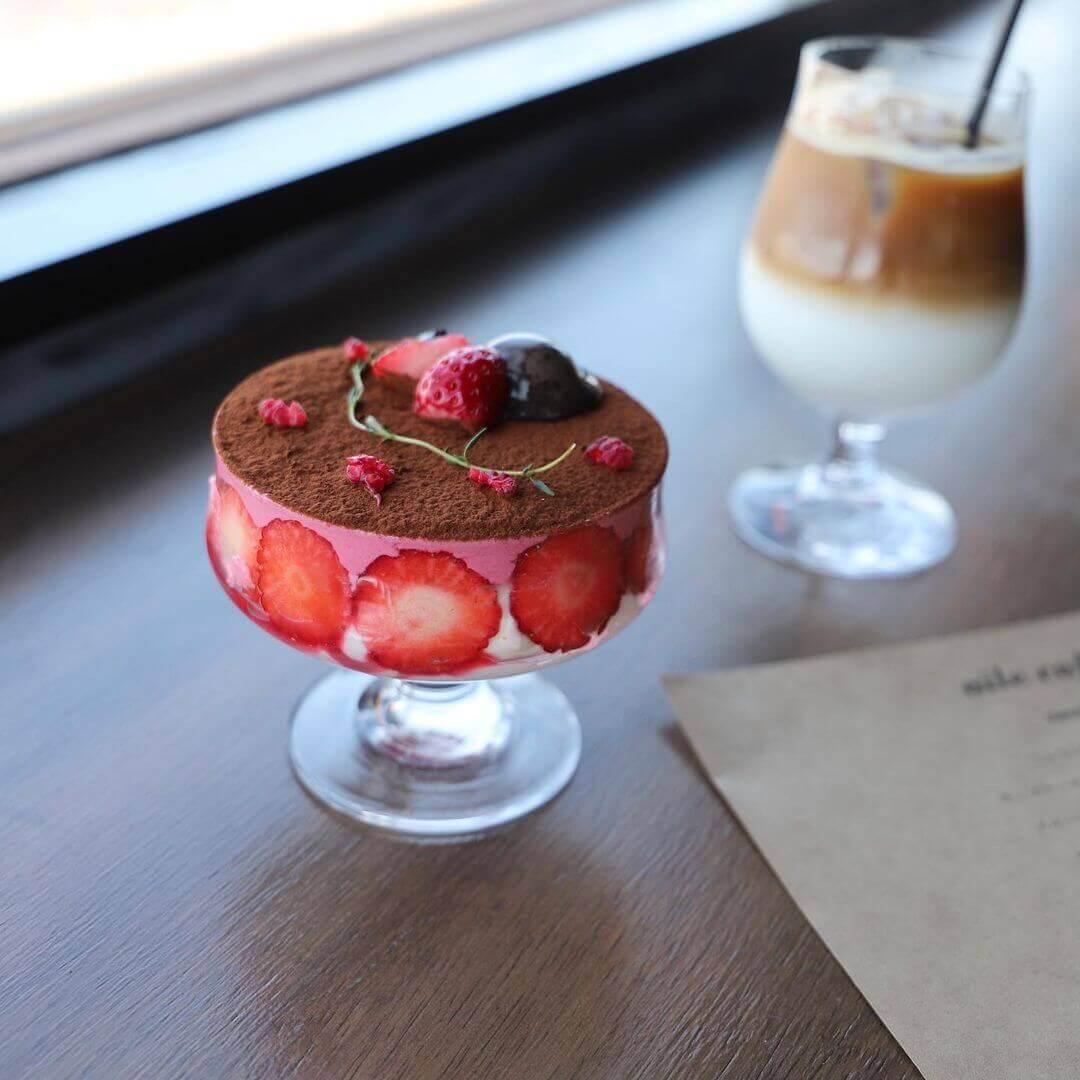 aile cafe エールカフェの『エールパフェ』