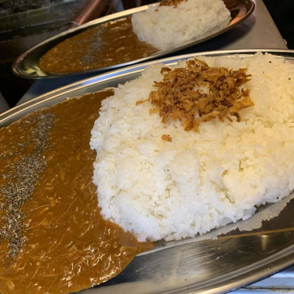 尾木咖喱のカレー