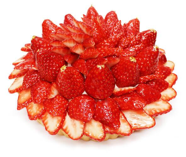 カフェコムサの『奈良県 平群町(へぐりちょう)産 「古都華(ことか)」のケーキ』