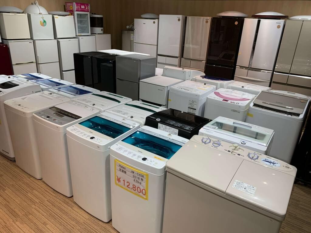 リサイクルショップ買取本舗 札幌市西区西野店の店内