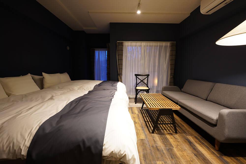 VILLA KOSHIDO ODORIの客室