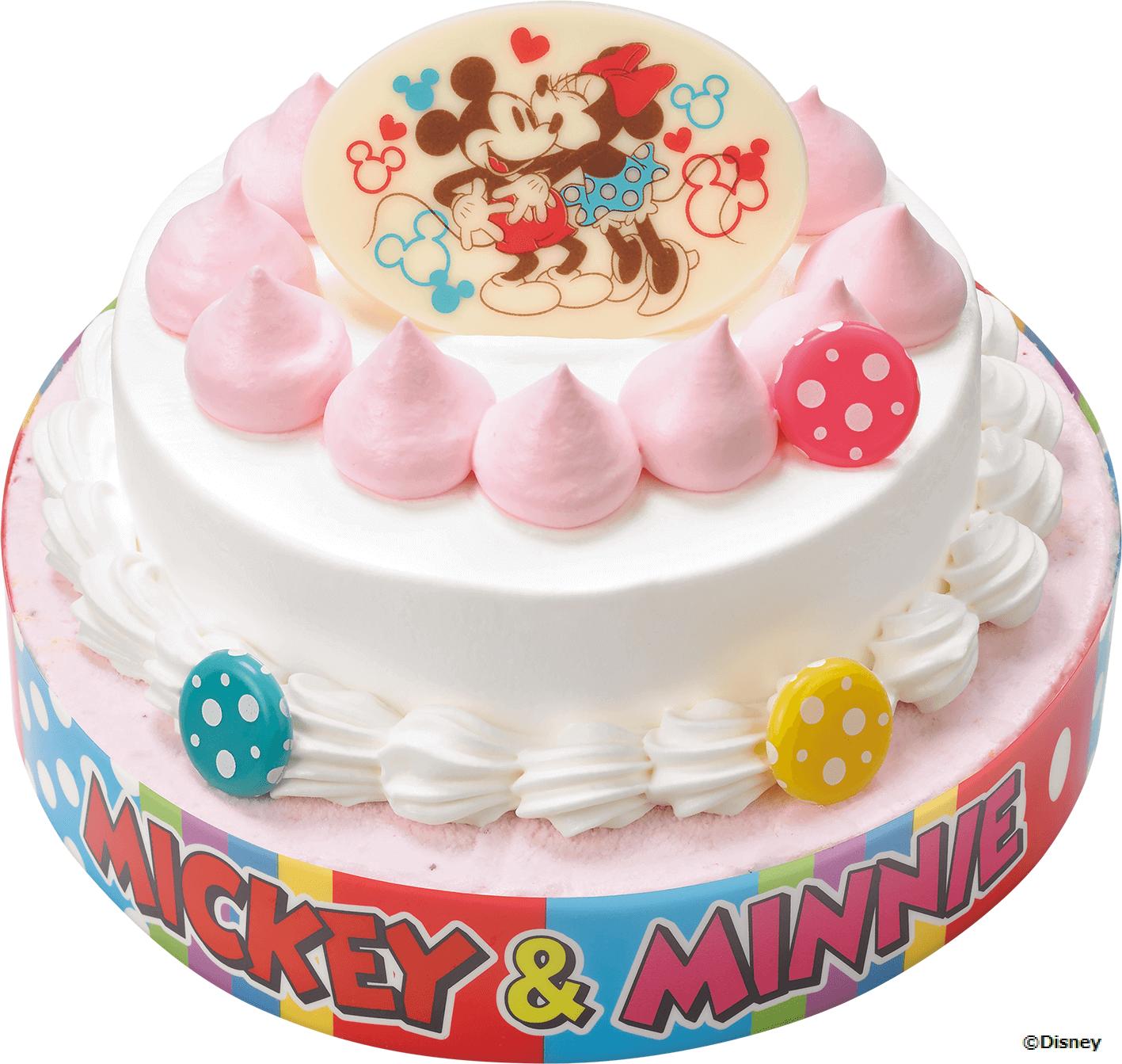 サーティワン『ミッキー&ミニー / クラシックデコレーション』