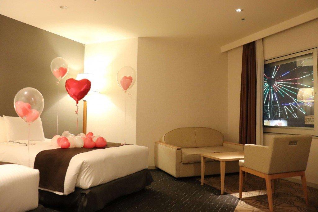 札幌東急REIホテル『おこもりバレンタインルーム』