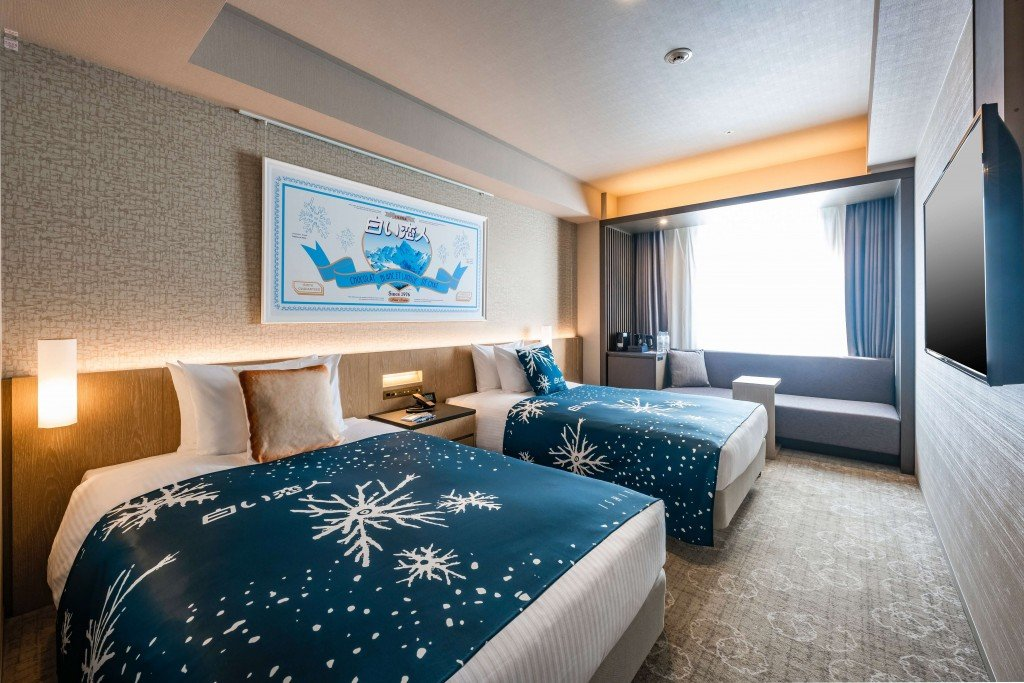 ホテルJALシティ札幌 中島公園×白い恋人コラボレーションルーム-スーペリアツイン