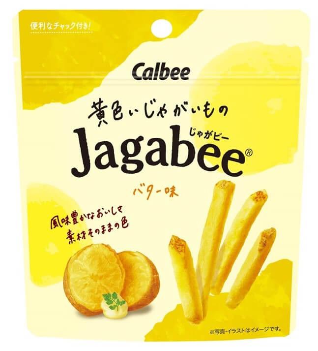 『黄色いじゃがいものJagabee バター味』