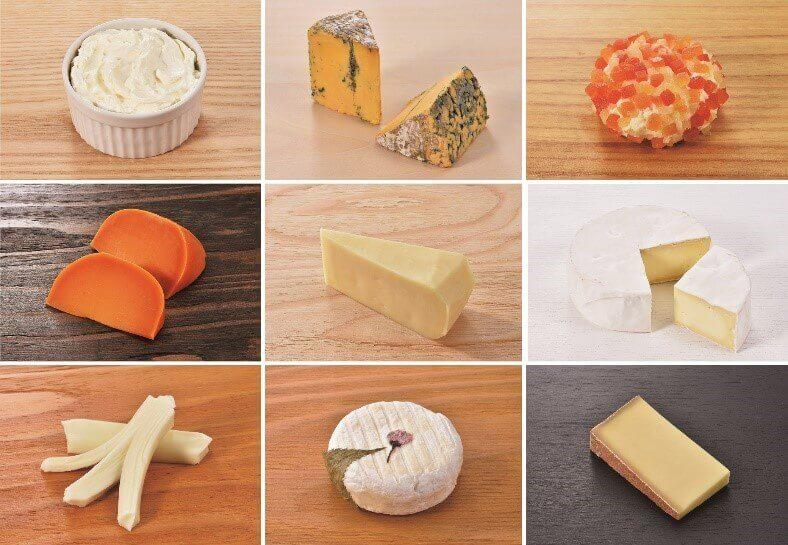『北海道地チーズ博 week』-出品チーズイメージ