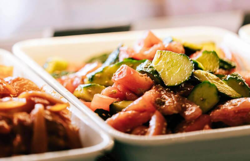 塩ザンギとお惣菜 ひろちゃんのこだわり-お総菜のこだわり
