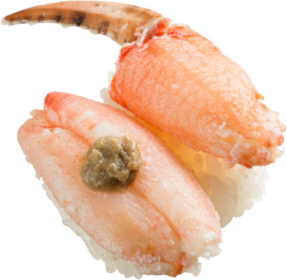 スシロー『Go To 超スシロー PROJECT』第五弾-丸ずわい蟹食べ比べ(爪・脚)