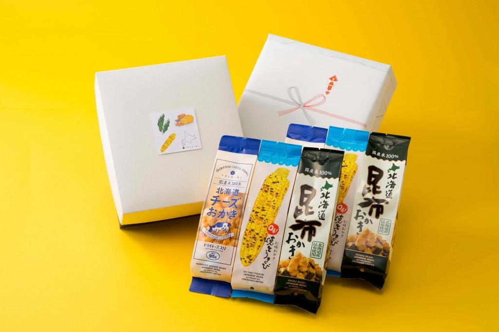 YOSHIMI『人気のおかき 3種詰め合わせ 【6袋セット】』