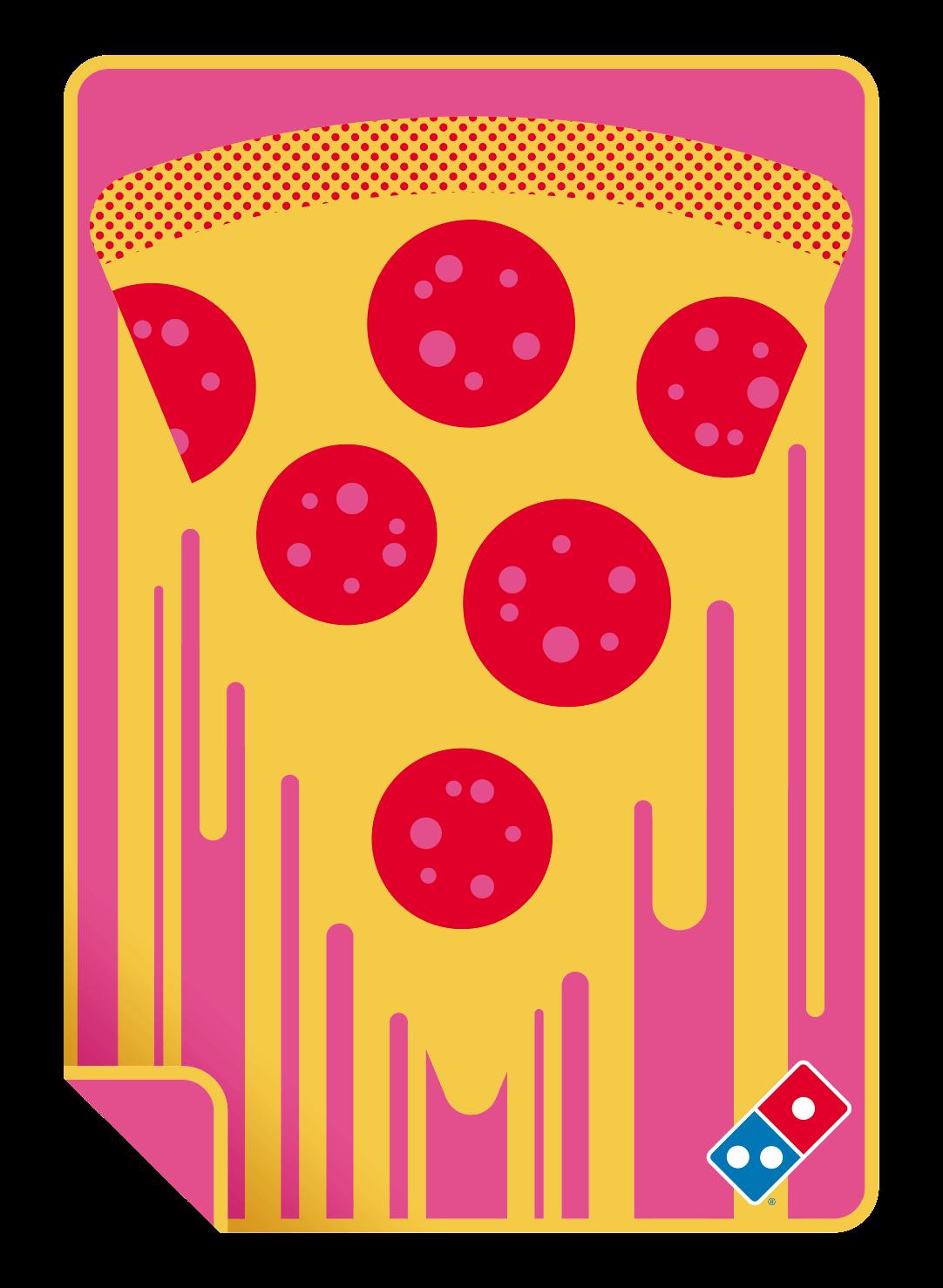 ドミノ・ピザ『Do!花見セット』-オリジナルブランケットイメージ