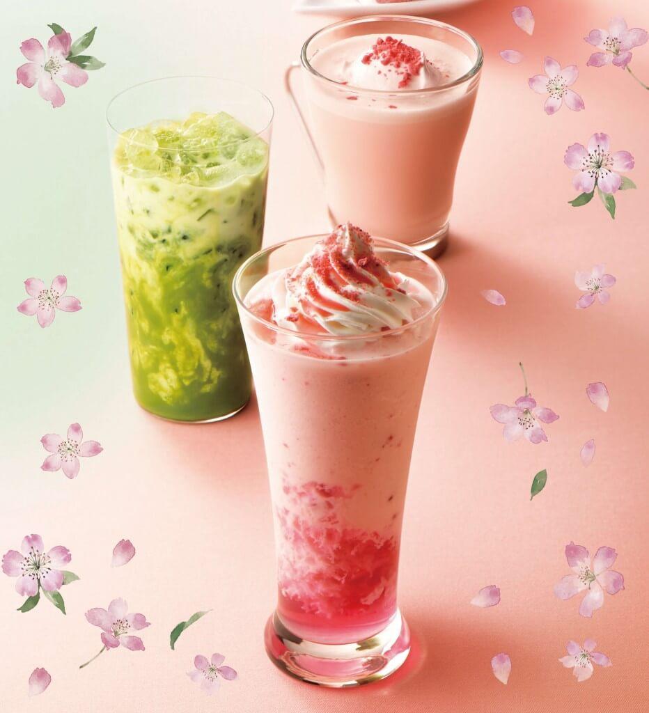 カフェ・ド・クリエ『ソルベージュ®華やか桜&ベリー』