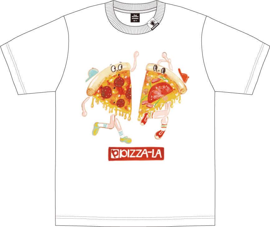 MIHARAYASUHIRO×ピザーラ コラボTシャツ