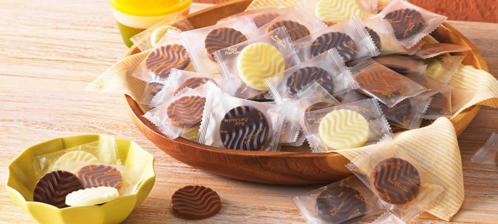 ロイズの『ピュアチョコレート3種パック[レッド]』
