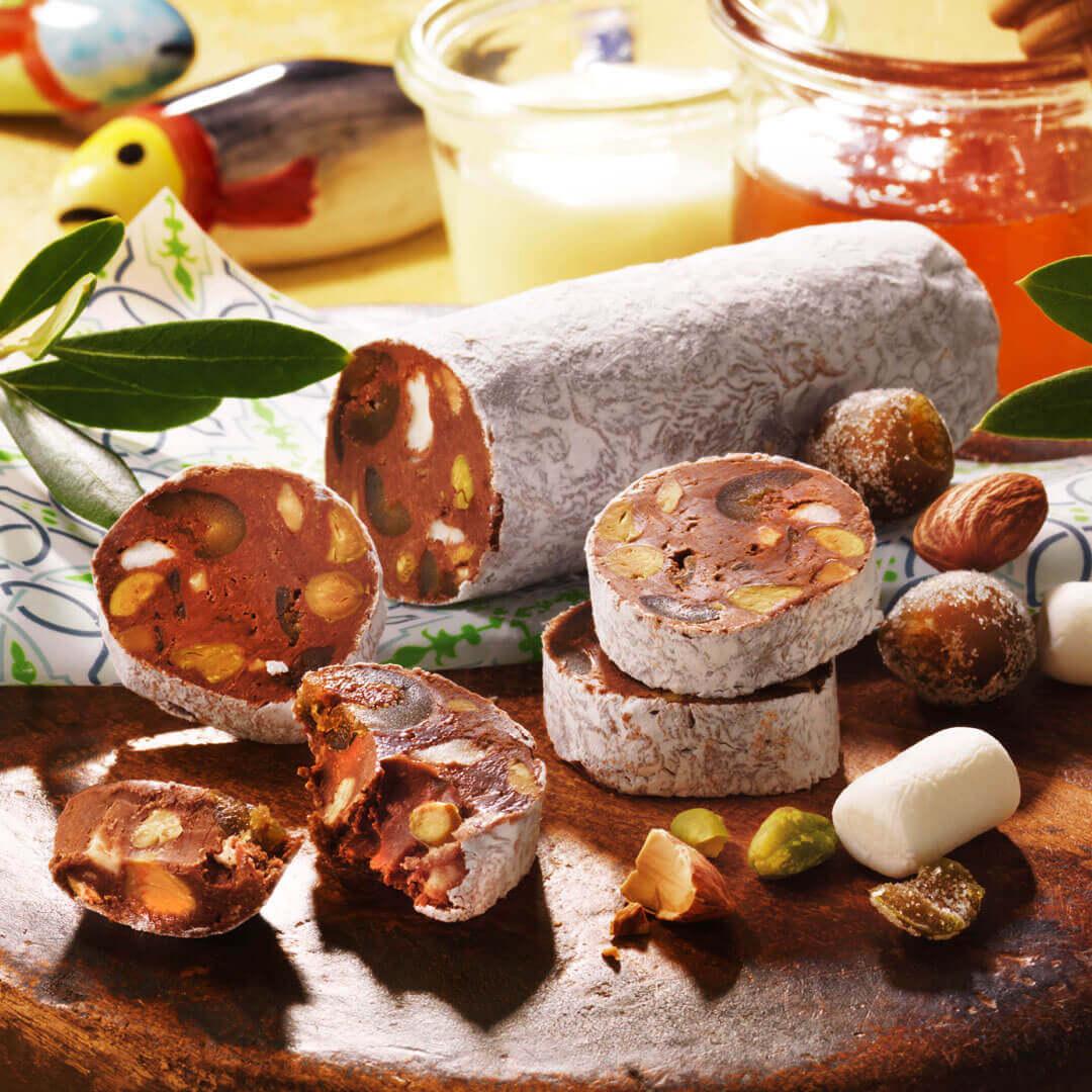 ロイズの『サラメショコラーテ・ド・オリーブ』