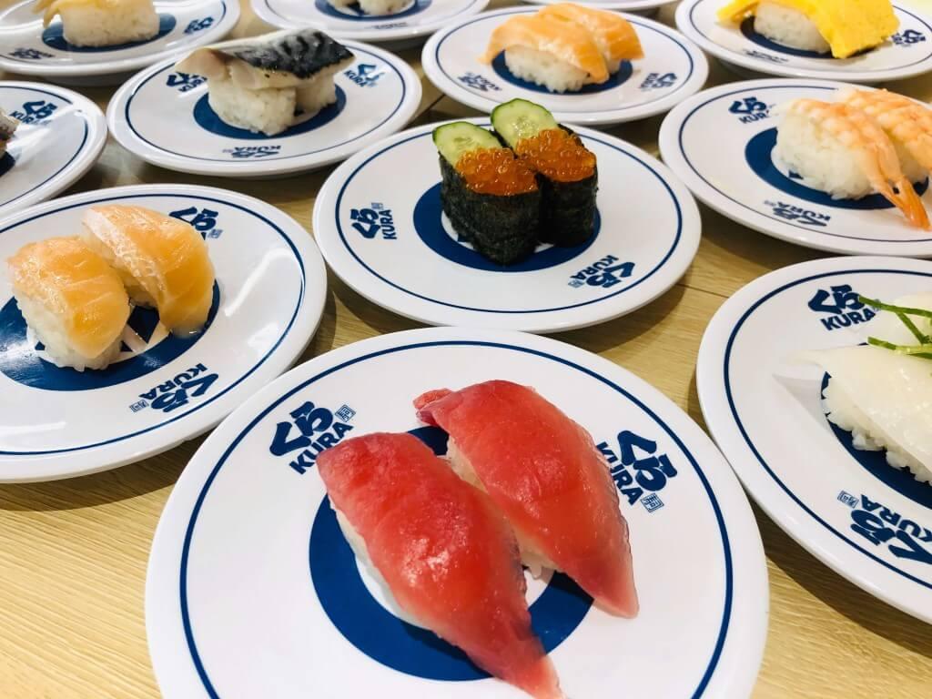 くら寿司の寿司
