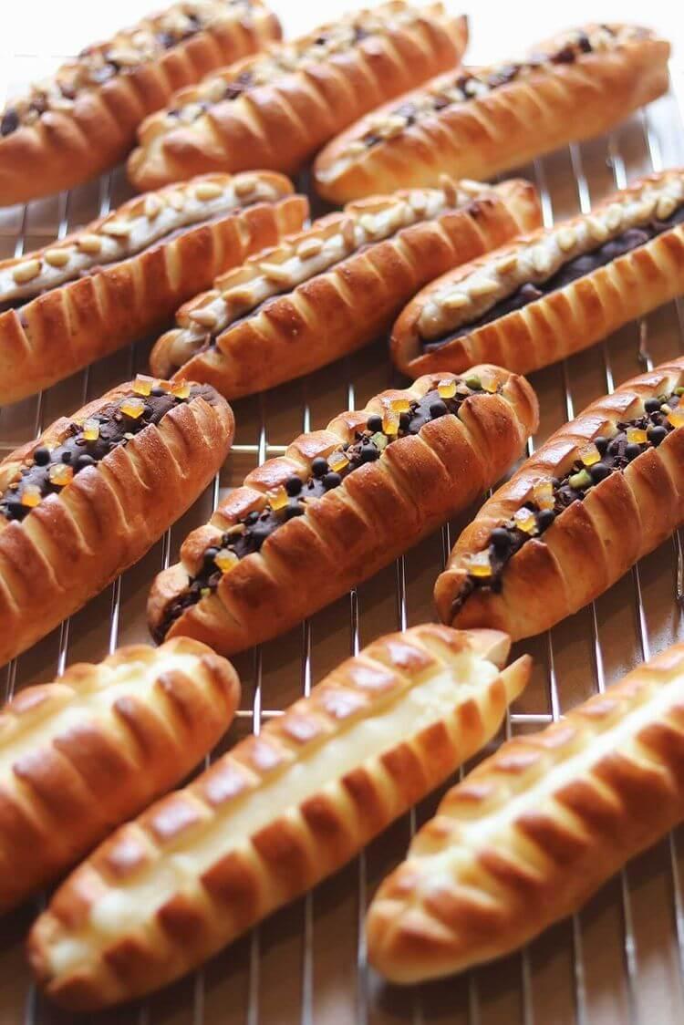 エクスクラメーションベーカリーのパン