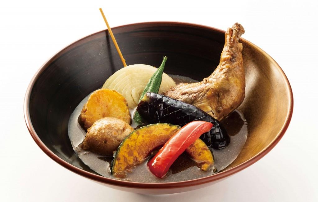 北海道生まれ和食処とんでん『北海道旨いもんめぐり』-北海道日高産昆布だしスープカレー