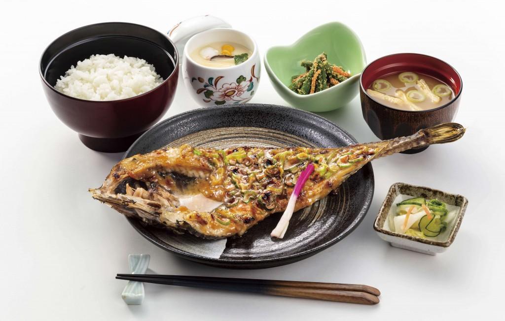 北海道生まれ和食処とんでん『北海道旨いもんめぐり』-十勝八角ねぎ味噌焼膳